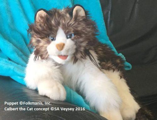 Calbert the Cat: Peanut Butter